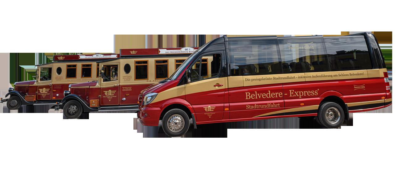 Belvedere Express - Stadtrundfahrt in Weimar