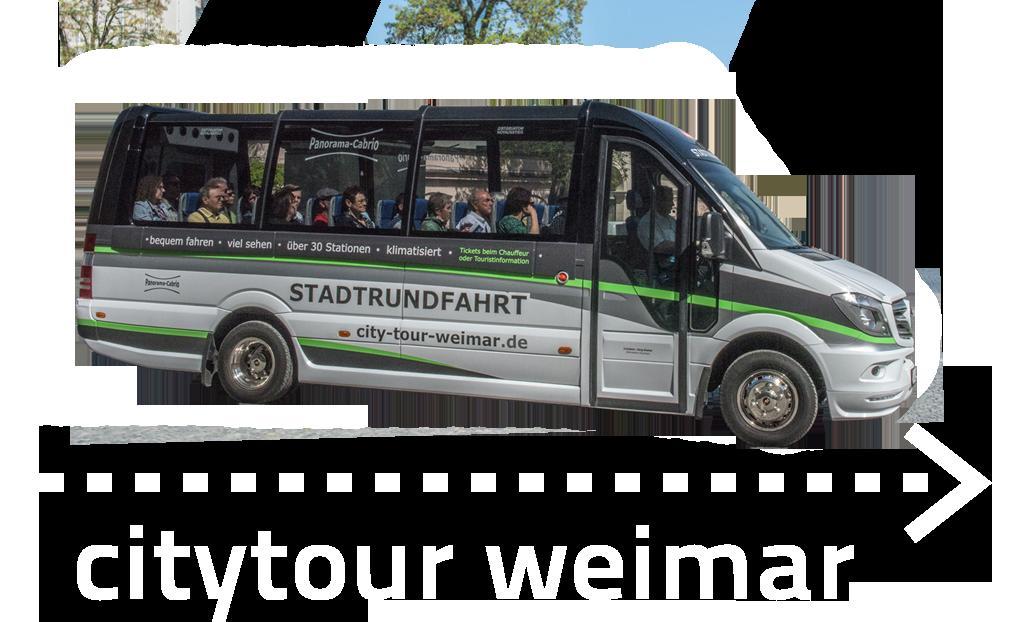 City Tour Weimar - Stadtrundfahrt